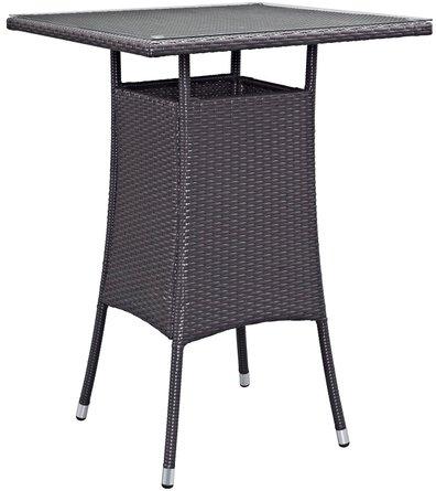 Convene Small Outdoor Bar Table Espresso