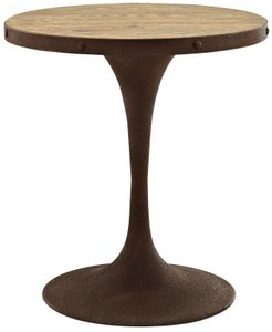 "Drive 28"" Round Dining Table Brown"