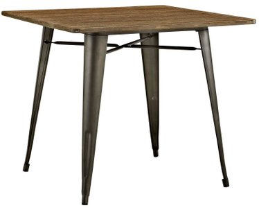 "Alacrity 36"" Square Dining Table Brown"