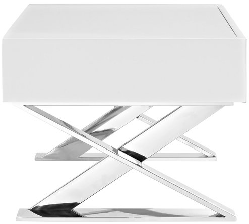 Sector Nightstand White