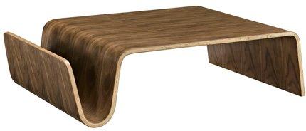 Polaris Wood Coffee Table Walnut