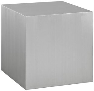 Cast Side Table Silver