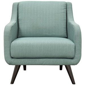 Verve Upholstered Fabric Armchair Laguna