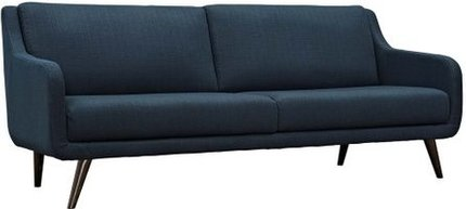 Verve Upholstered Fabric Sofa Azure