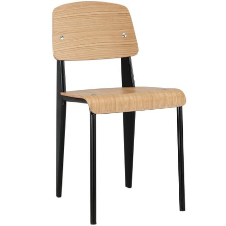 Cabin Dining Chair Natural Black