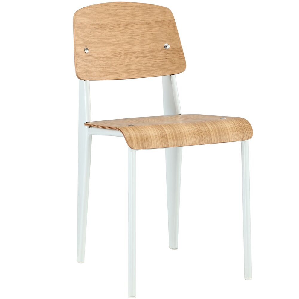 Rent In San Francisco Bay Area: Rent Cabin Dining Chair Natural White