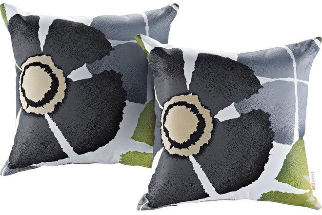 Outdoor Single Pillow Botanical