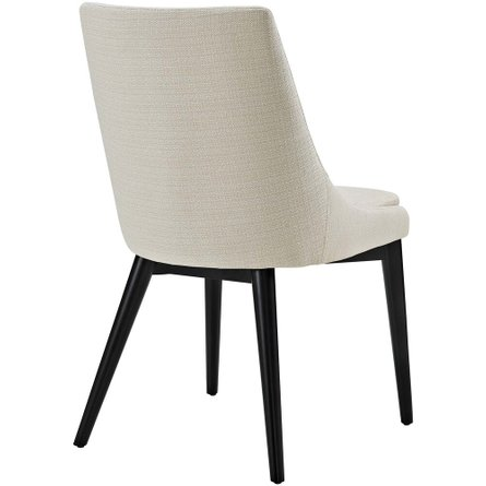 Viscount Fabric Dining Chair Beige