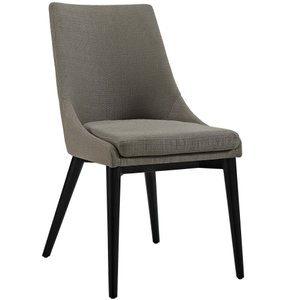 Viscount Fabric Dining Chair Granite