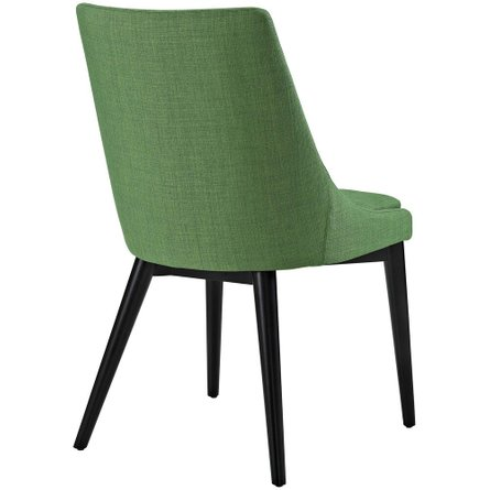 Viscount Fabric Dining Chair Kelly Green