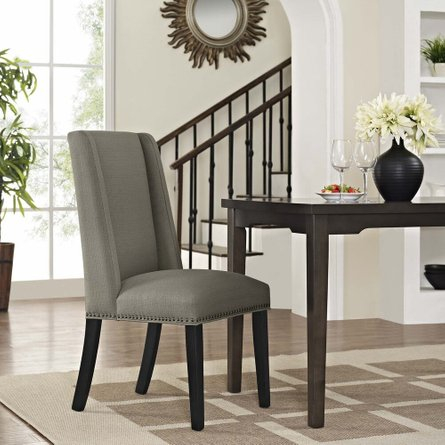 Baron Fabric Dining Chair Granite