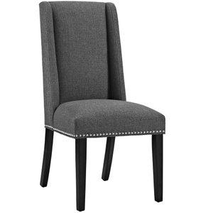 Baron Fabric Dining Chair Gray