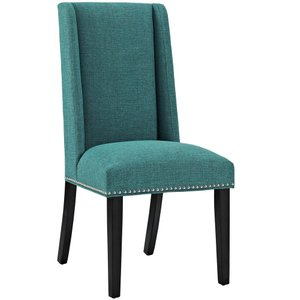 Baron Fabric Dining Chair Teal