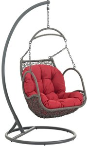 Arbor Outdoor Swing Chair Red
