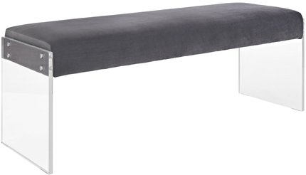Roam Bench Gray