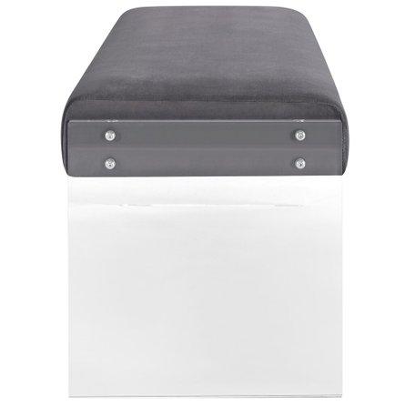 Roam Bench Gray