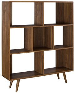 Transmit Bookcase Walnut