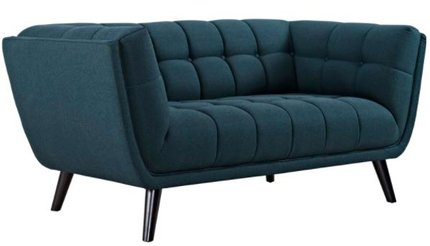 Bestow Loveseat Blue