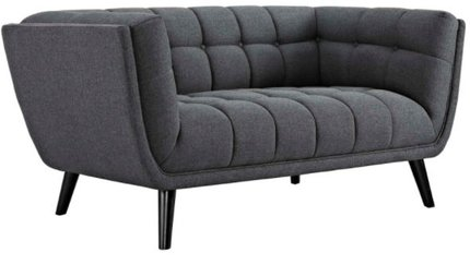 Bestow Loveseat Gray