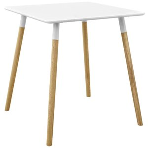 Continuum Square Dining Table White