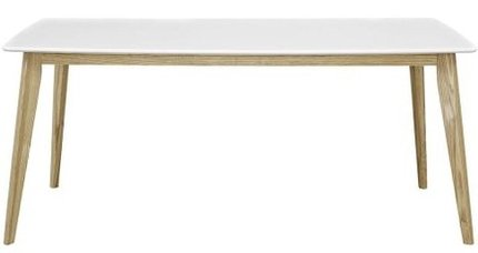 "Stratum 71"" Dining Table White"