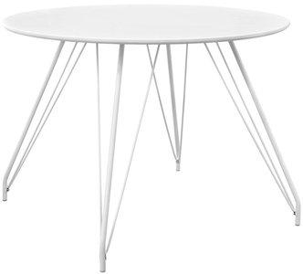 Satellite Circular Dining Table White
