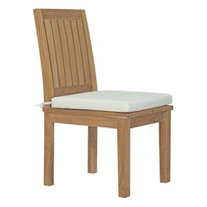 Marina Dining Chair Natural & White