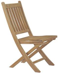 Marina Outdoor Folding Chair Natural