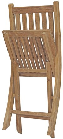 Marina Outdoor Folding Chair Natural