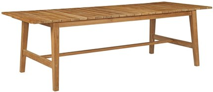 "Dorset 98.5"" Outdoor Dining Table Natural"