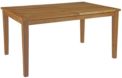 "Marina 60"" Outdoor Dining Table Natural"