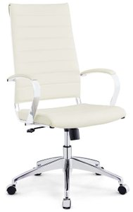 Jive Highback Office Chair White