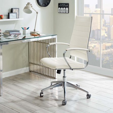 Jive Highback Office Chair White