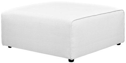 Mingle Ottoman White