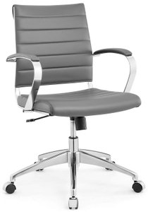 Jive Mid Back Office Chair Gray