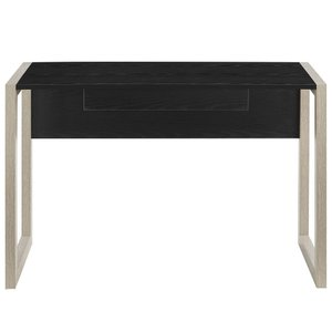 Become Wood Writing Desk Natural Black