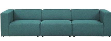 Mingle Upholstered Sectional Sofa Set Teal