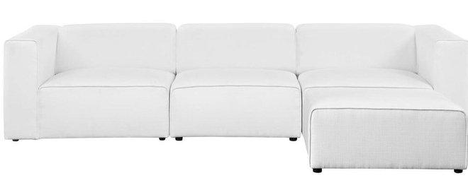 Mingle Upholstered Reversible Sectional Sofa White