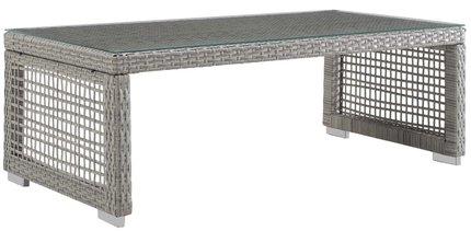 Aura Rectangular Coffee Table Gray