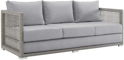 Aura Outdoor Sofa Gray