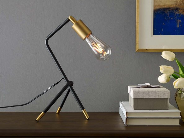 Achievement Table Lamp Matte Black