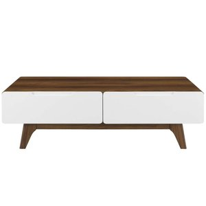 Origin Coffee Table Walnut And White