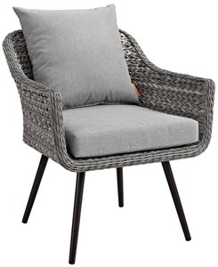 Endeavor Outdoor Armchair Gray
