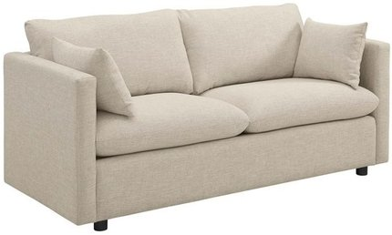 Activate Upholstered Fabric Sofa Beige