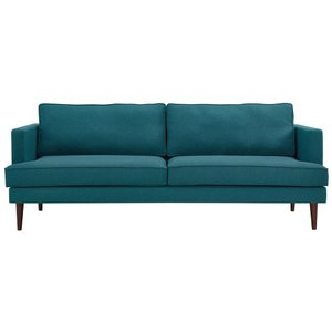 Agile Upholstered Fabric Sofa Teal