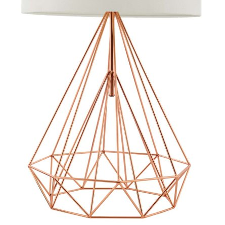 Precious Table Lamp Rose Gold