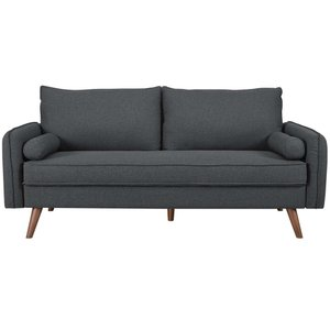 Revive Upholstered Fabric Sofa Gray