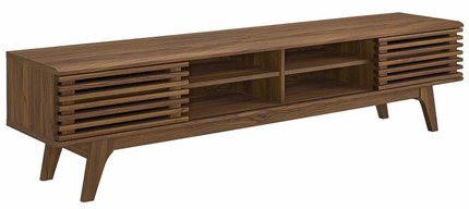"Render 70"" Entertainment Center TV Stand Walnut"