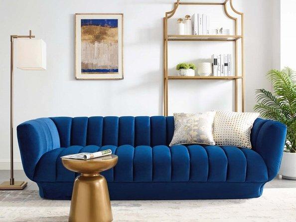 Entertain Sofa Navy