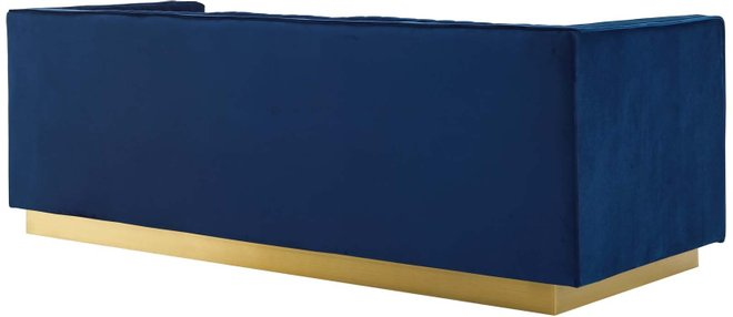 Sanguine Sofa Navy & Gold